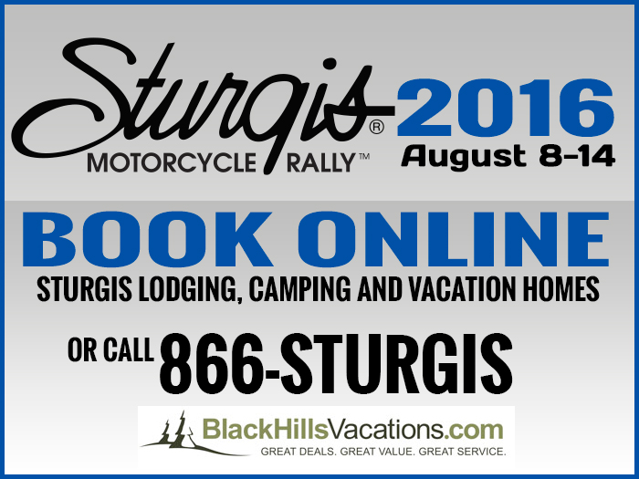 Book Sturgis Motorcycle Rally Lodging