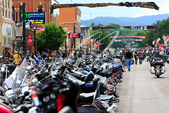 Downtown Sturgis Photo by Shooter Images
