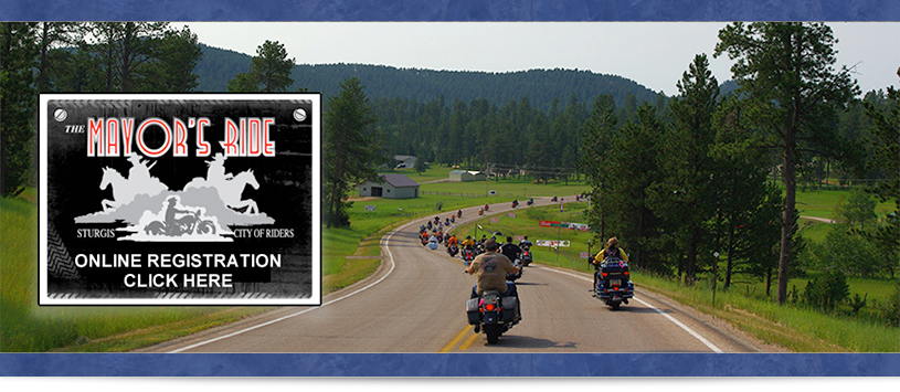 Sturgis Motorcycle Rally Mayors Ride