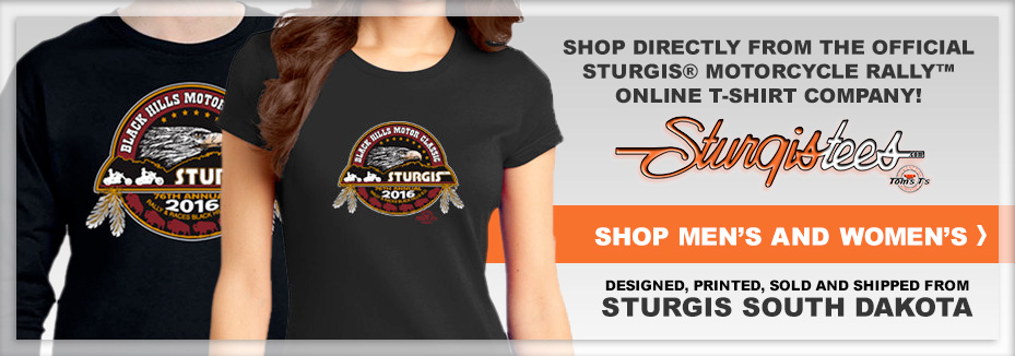 Tom's T's Sturgis Motorcycle Rally
