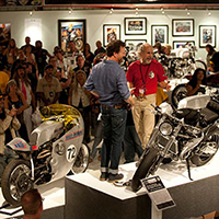 Motorcycle Exhibits at Buffalo Chip
