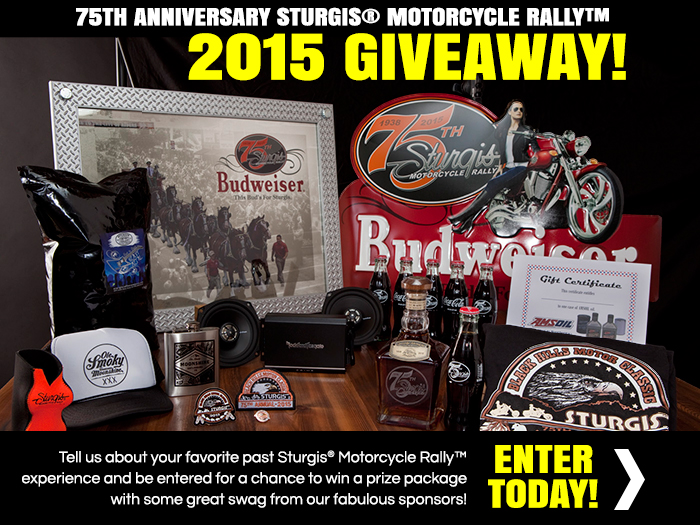 2015 Giveaway