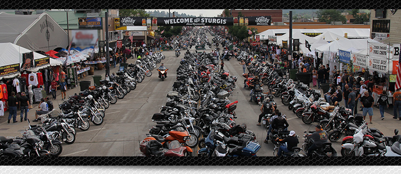 Downtown Sturgis Motorcycle Rally