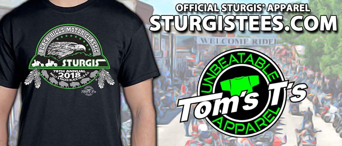 Tom's T's Sturgis Motorcycle Rally