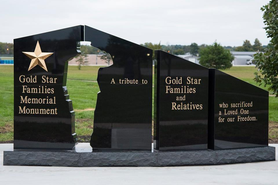 Sturgis SD Gold Star Families Memorial Monument